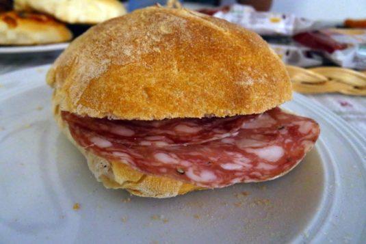Broodje met Pancetta