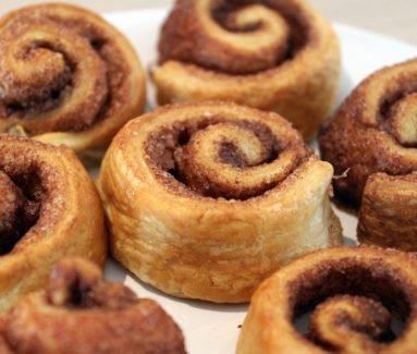 Kaneel-suiker sweet rolls