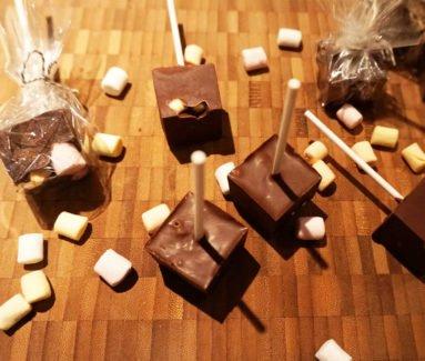 Chocomelk lollies