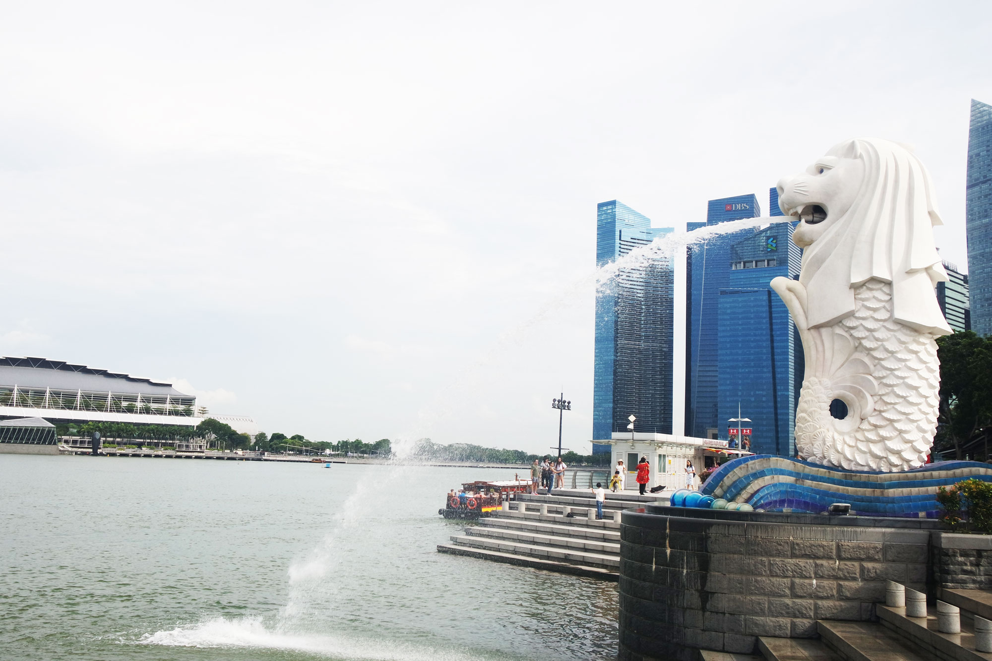 Merlion van Singapore