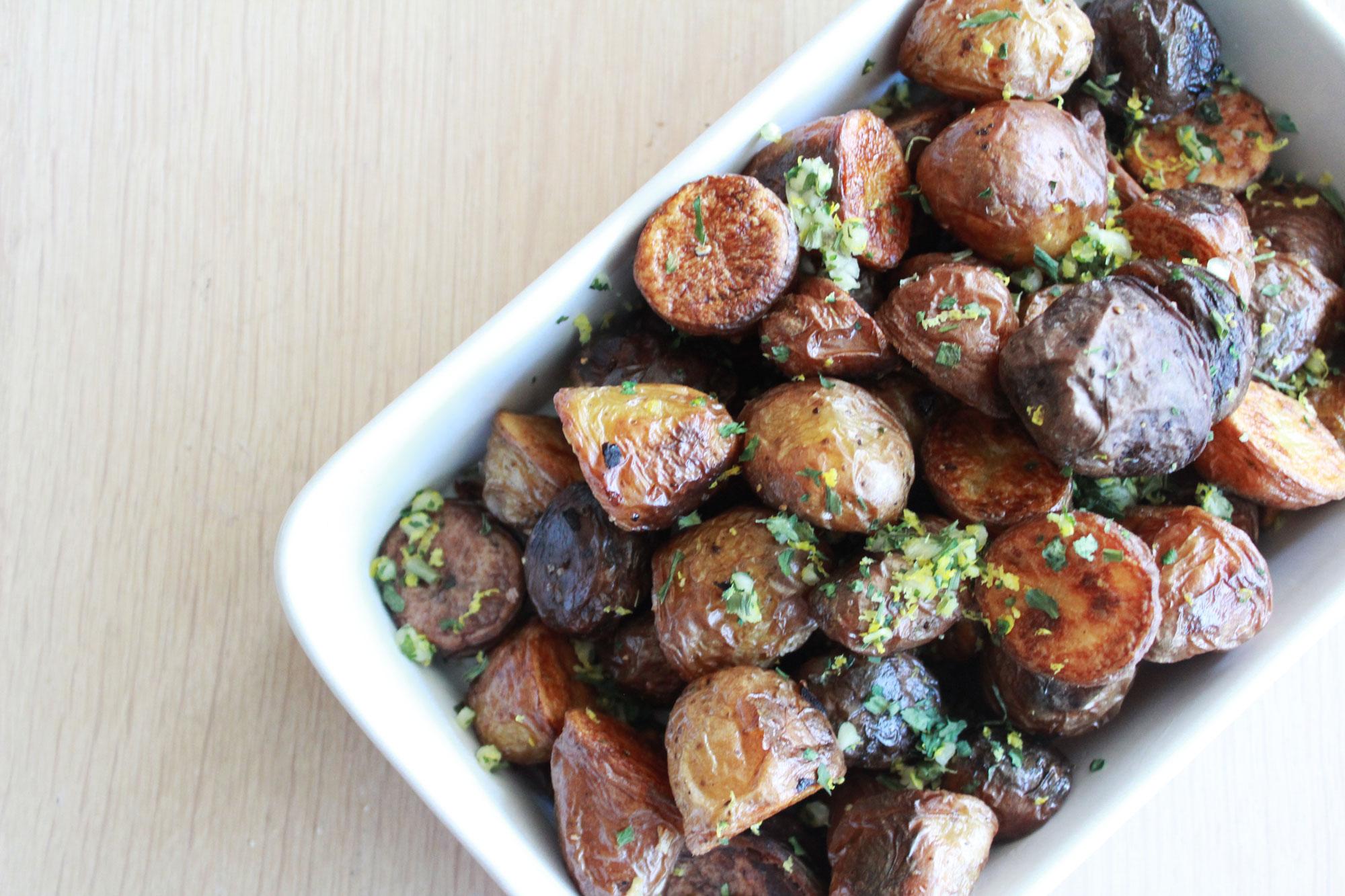 Knapperige Aardappeltjes