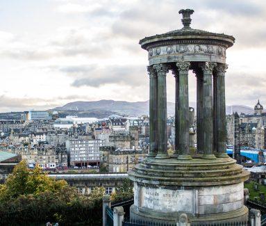 Edinburgh, Dugald Stewart Monument