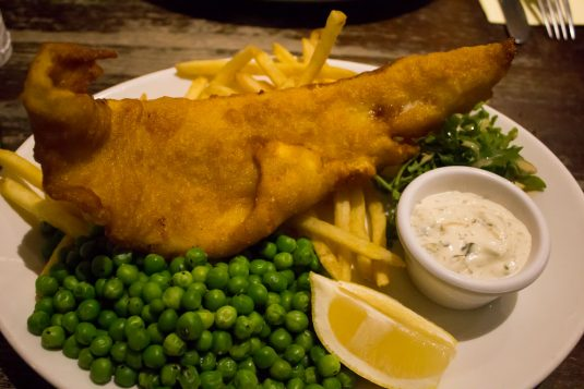 Fish and Chips bij World's End
