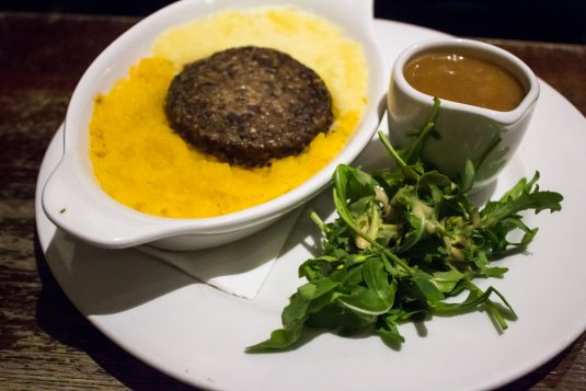 'A taste of Haggis' bij World's End