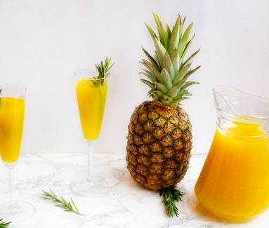 Ananas Prosecco Punch