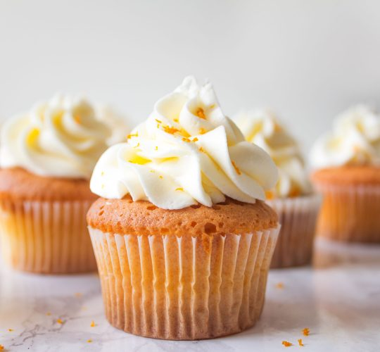 Sinaasappelcupcakes met Licor 43