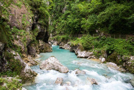 Bled: Tolmin Gorge