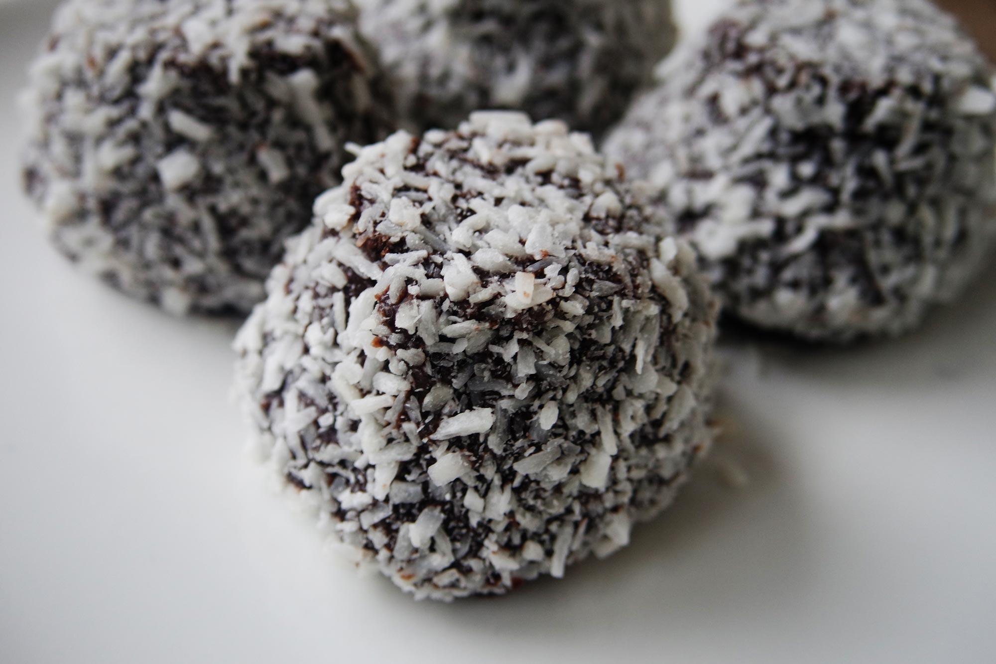Chokladbollar - Chocolade Kokosbollen