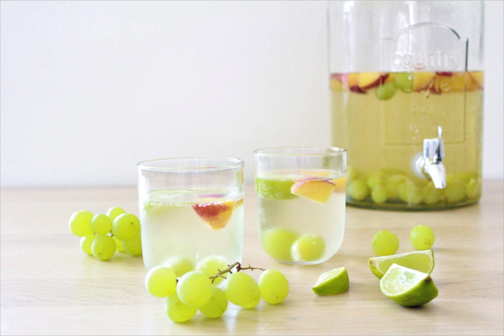 Witte Sangria met Fruit