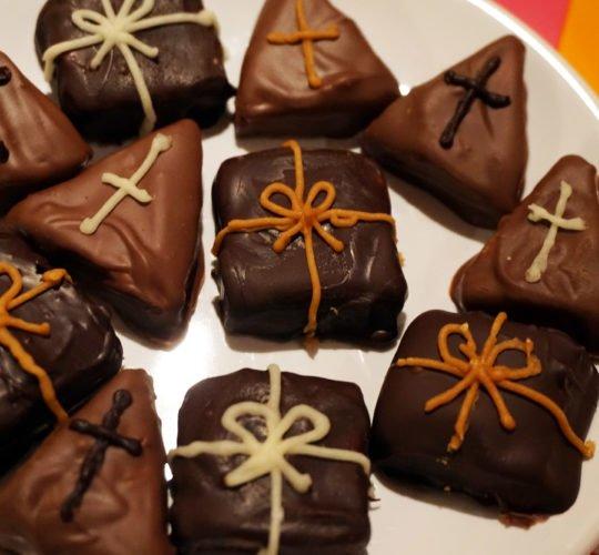 Marsepein bonbons