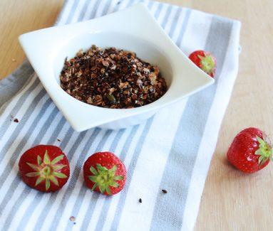 Granola met Spelt, Lijnzaad en Pompoenpitten