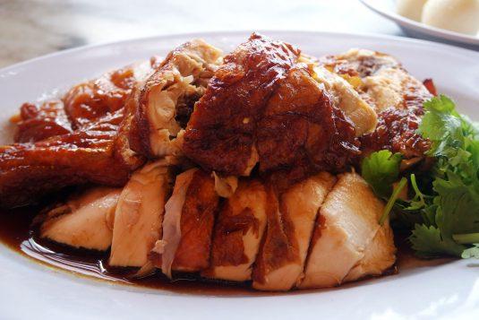 Heerlijke kip te krijgen in Malakka