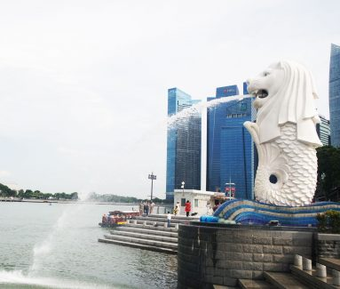 Merlion van Singapore