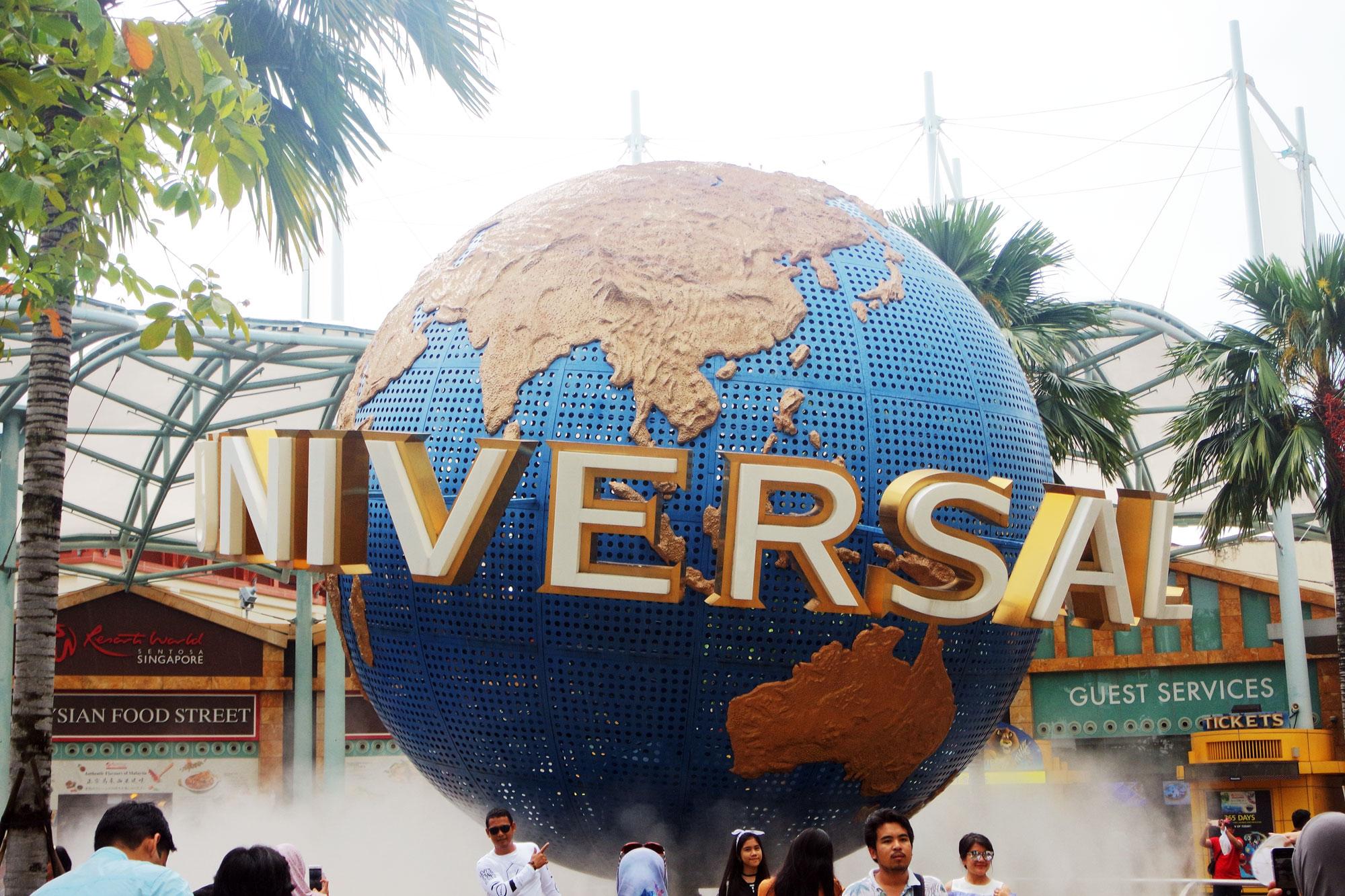 Universal Studios op Sentosa Island