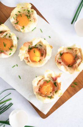 Ontbijt Quiches met ei