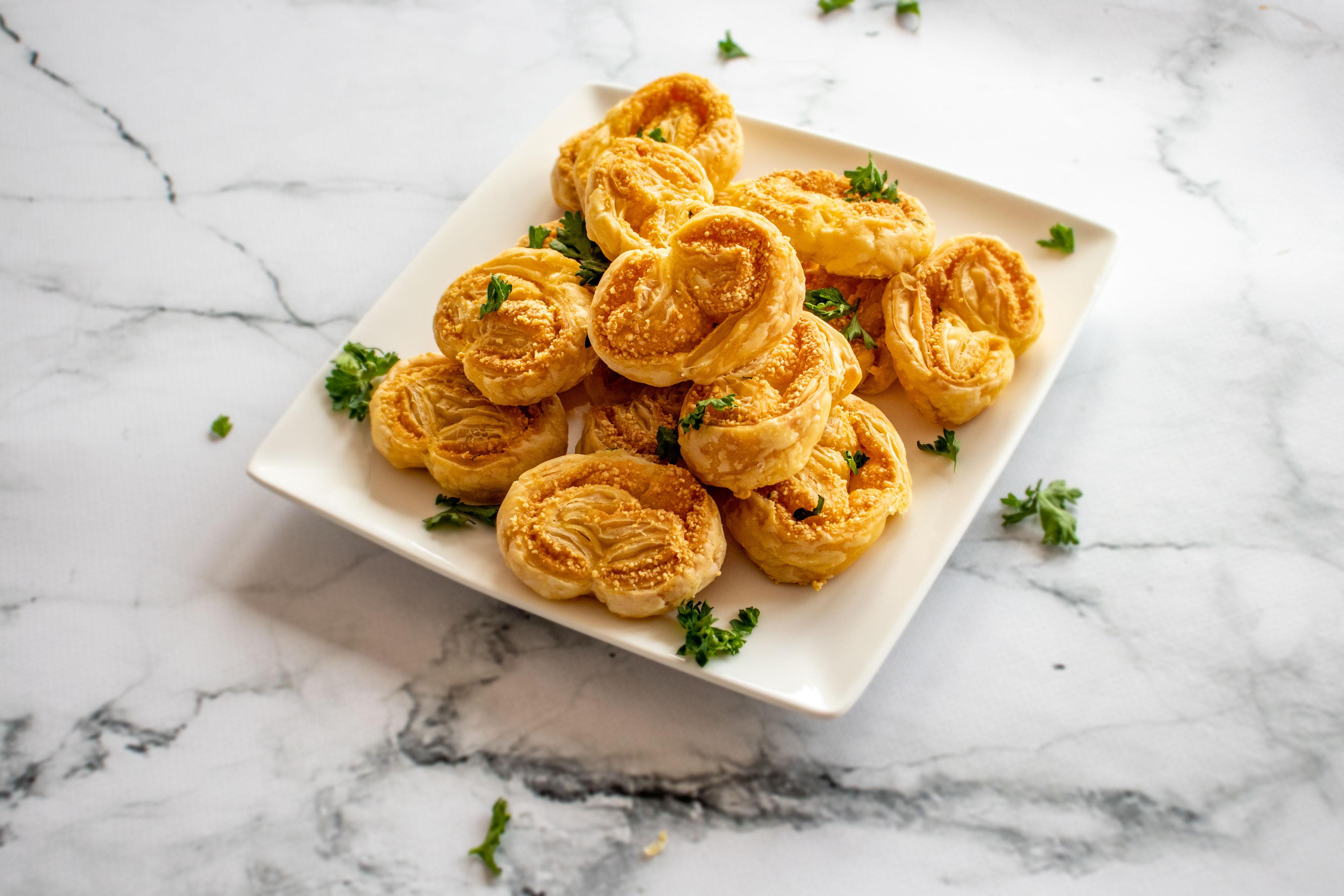Kaasvlinders met Parmezaanse Kaas