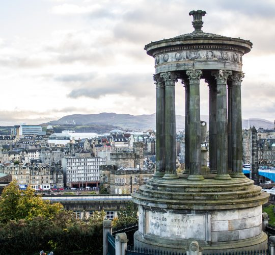 Edinburgh, Dugald Stewart Monument