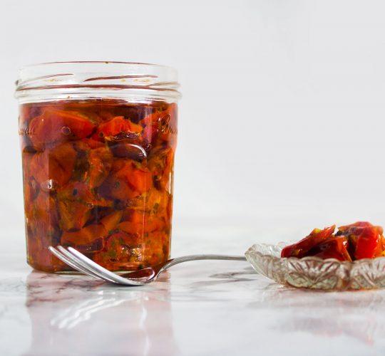 Ovengedroogde tomaten