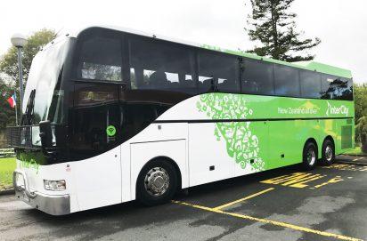 Nieuw-Zeeland Intercity bus