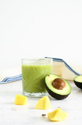 Smoothie met Avocado en Mango