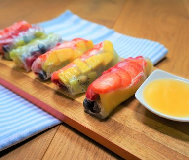 Fruit Springrolls