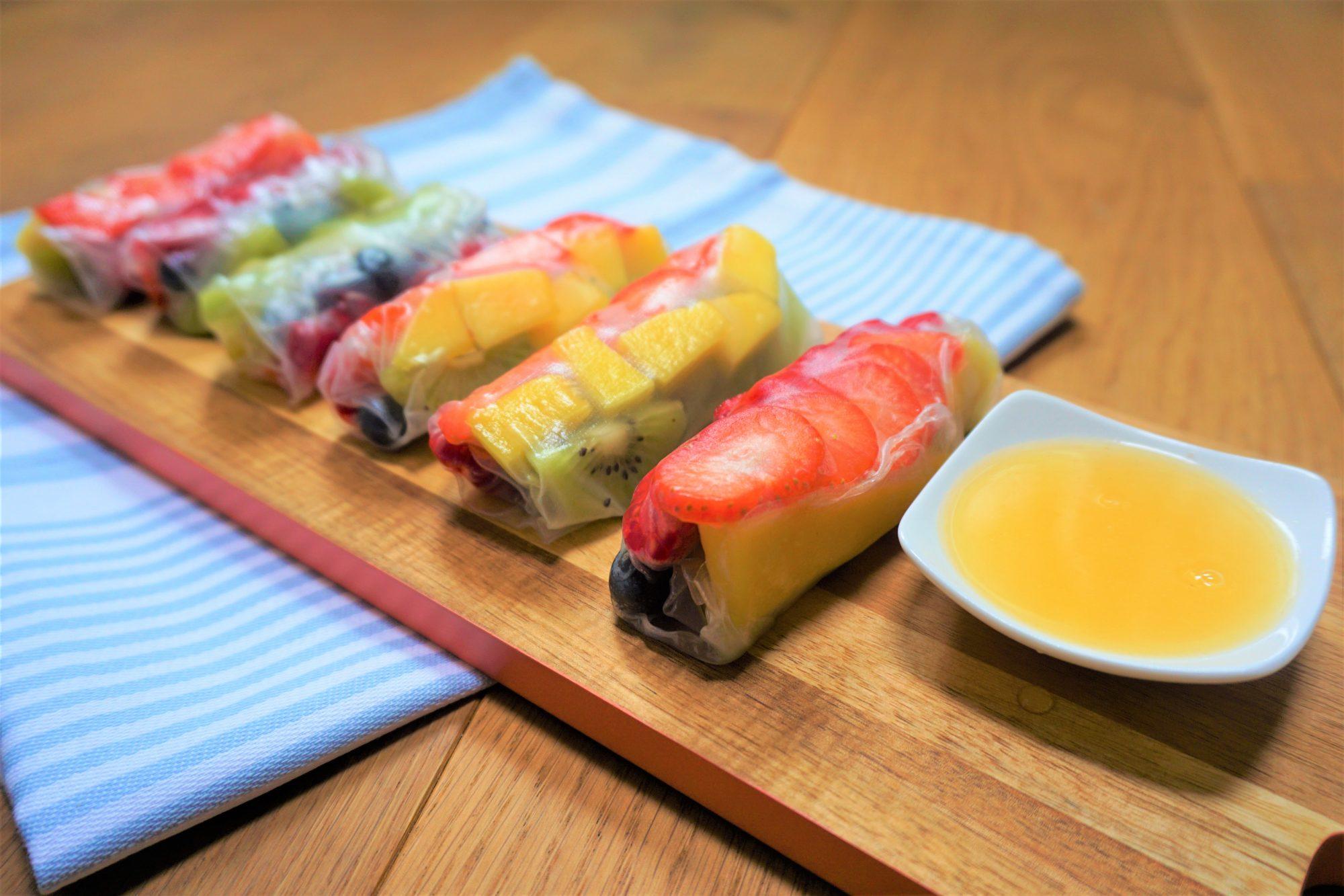 Fruit Springrolls