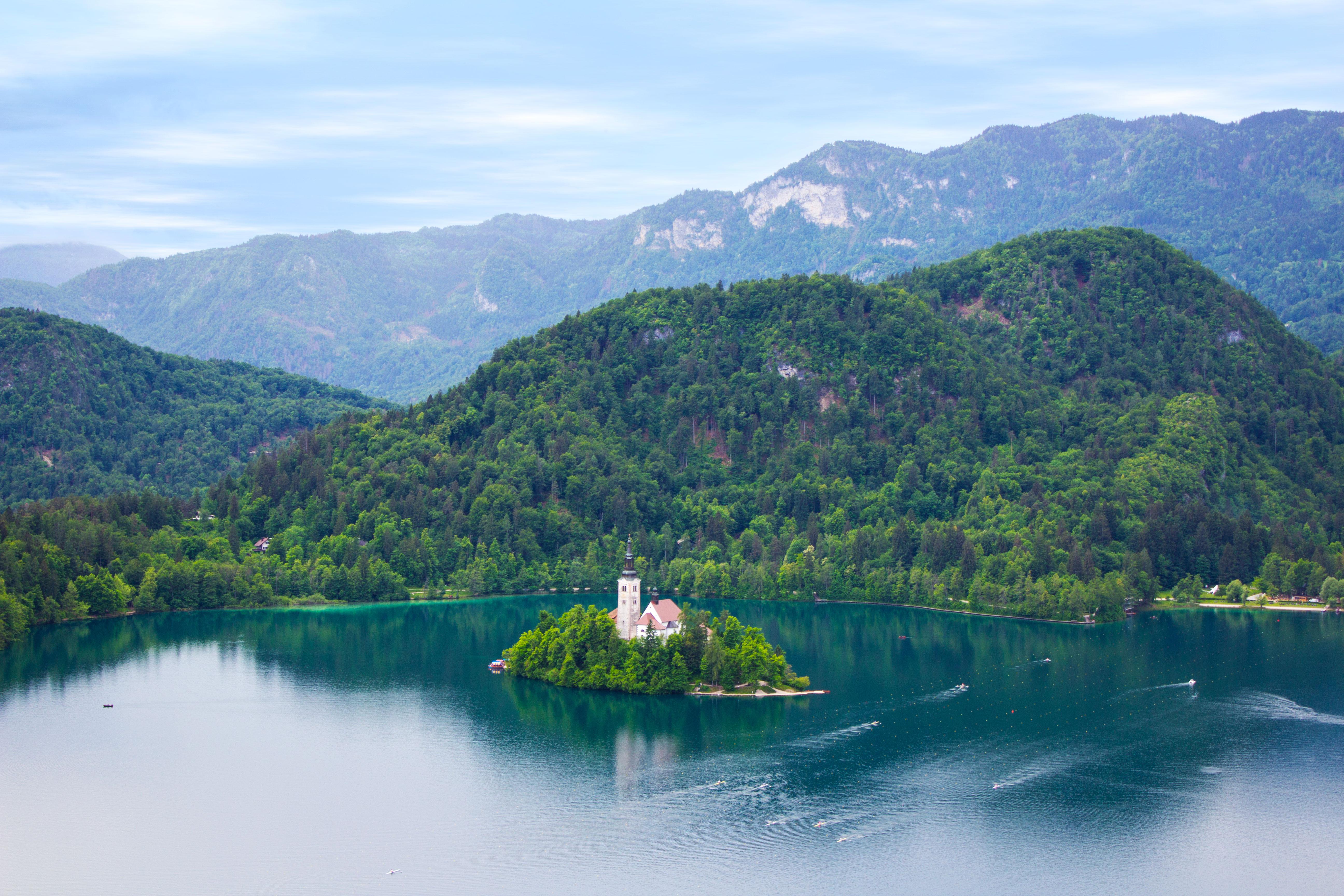 Slovenië: Het idyllische plaatsje Bled