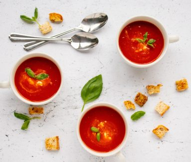 Tomatensoep uit de Slowcooker