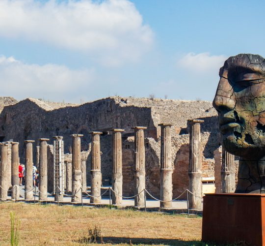 Dagtrip Pompeï en Vesuvius