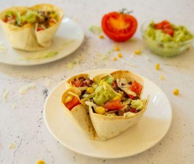 Mexicaanse Wrap Bowl