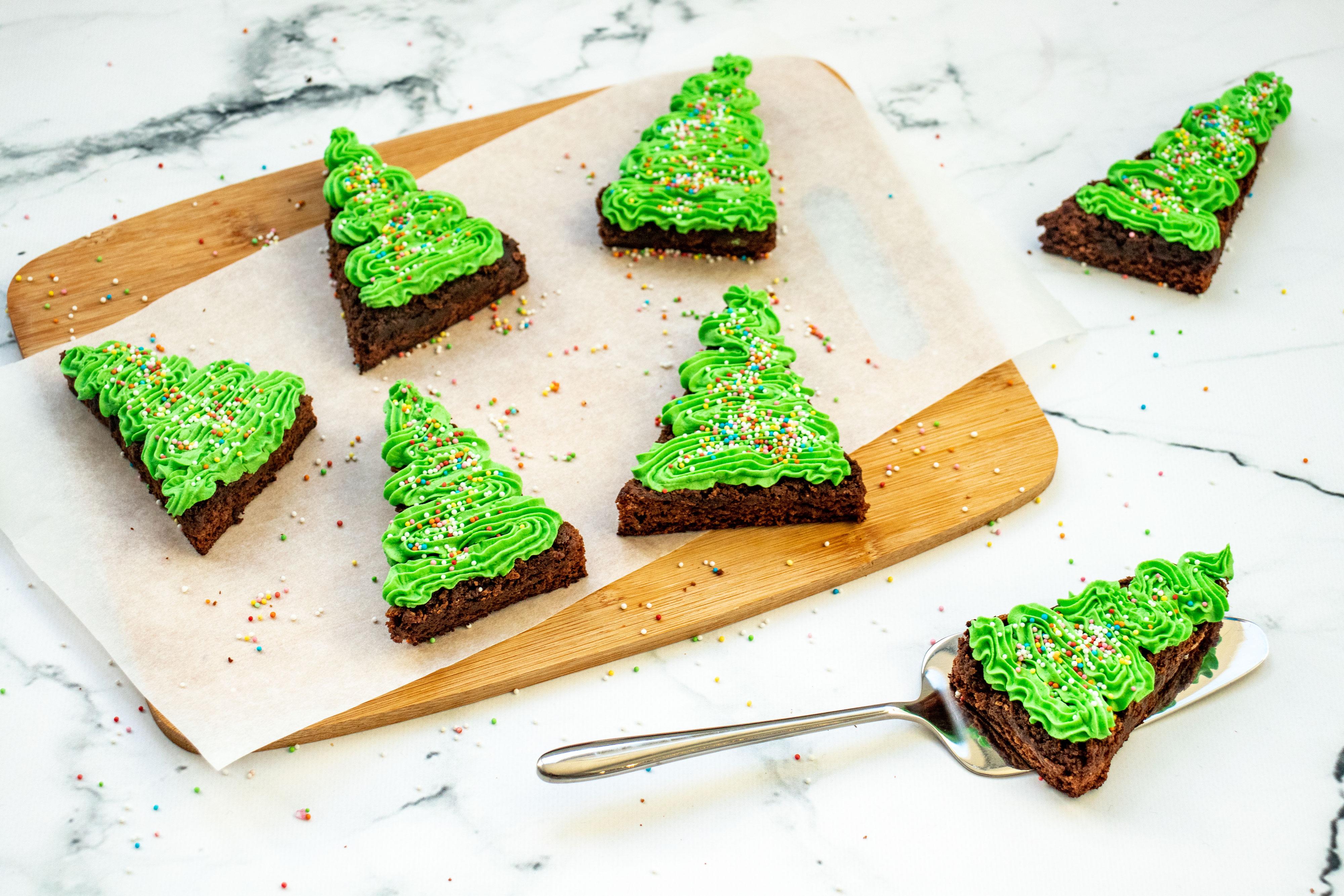 Kerst Brownies