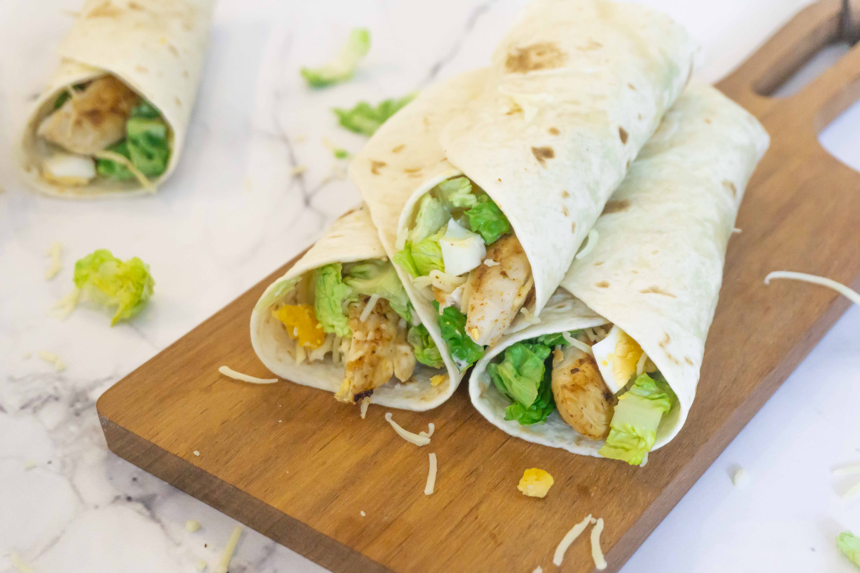 Caesar Salade Wraps