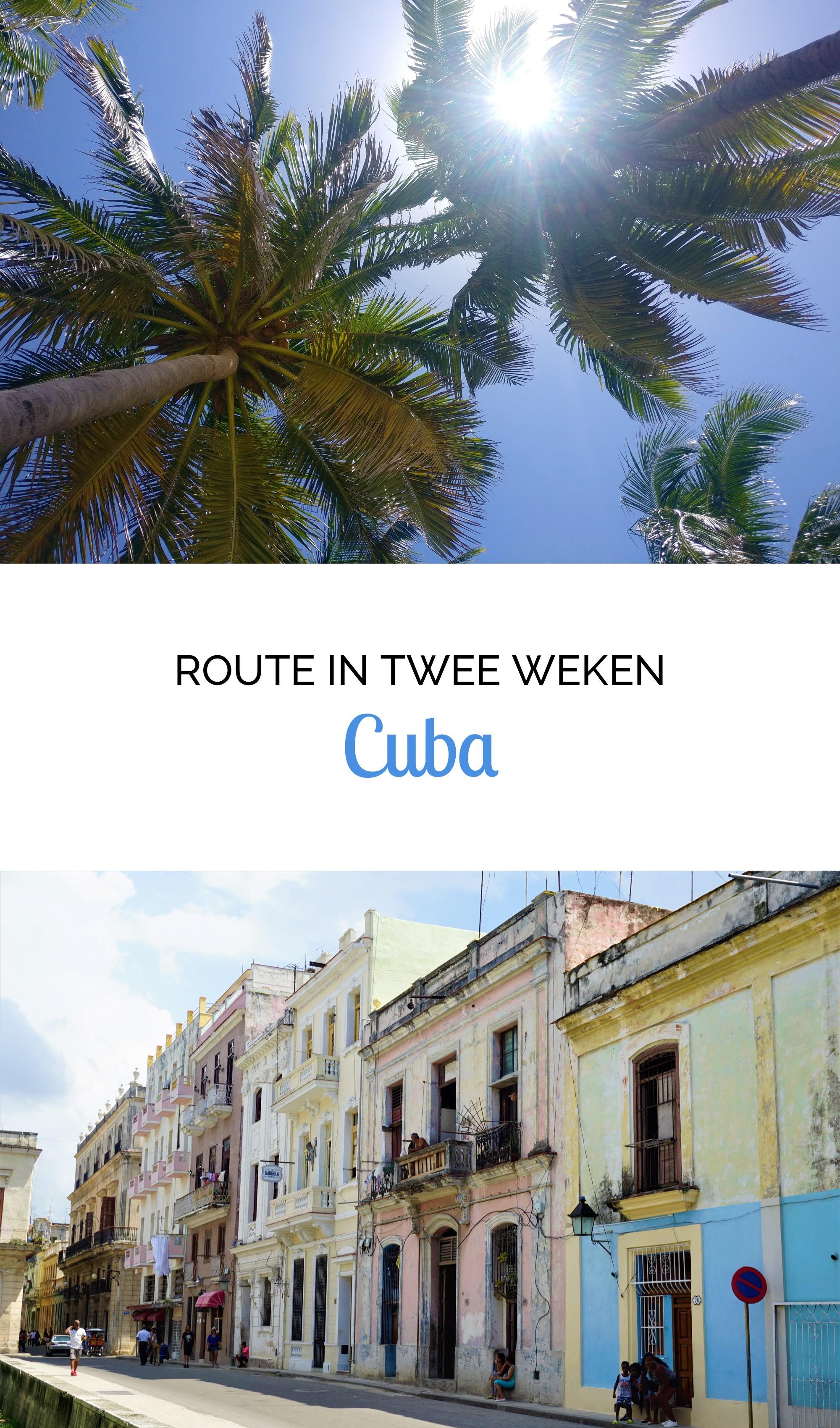 Cuba - Onze Route in 2 Weken
