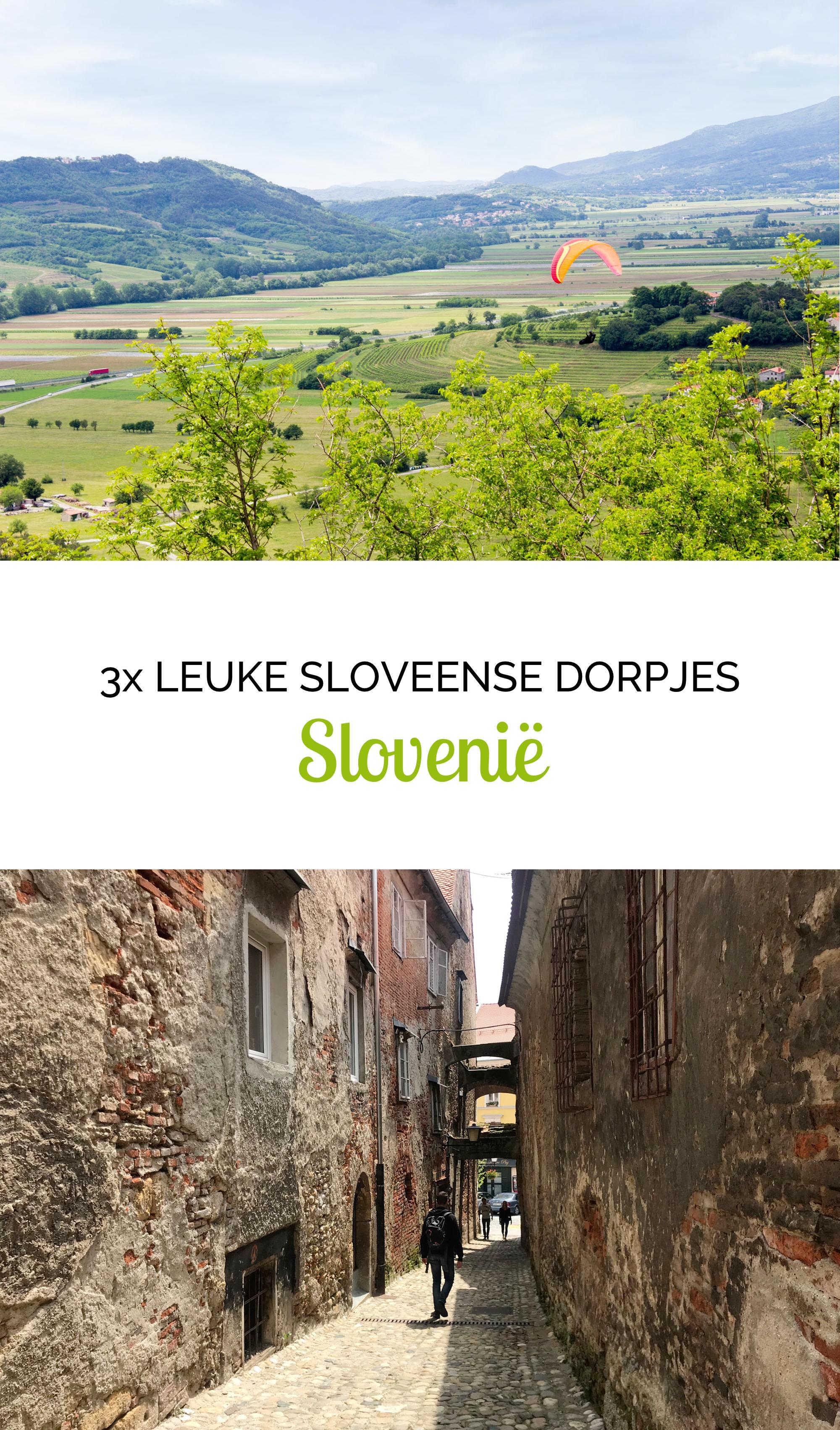 3x leuke Sloveense dorpjes
