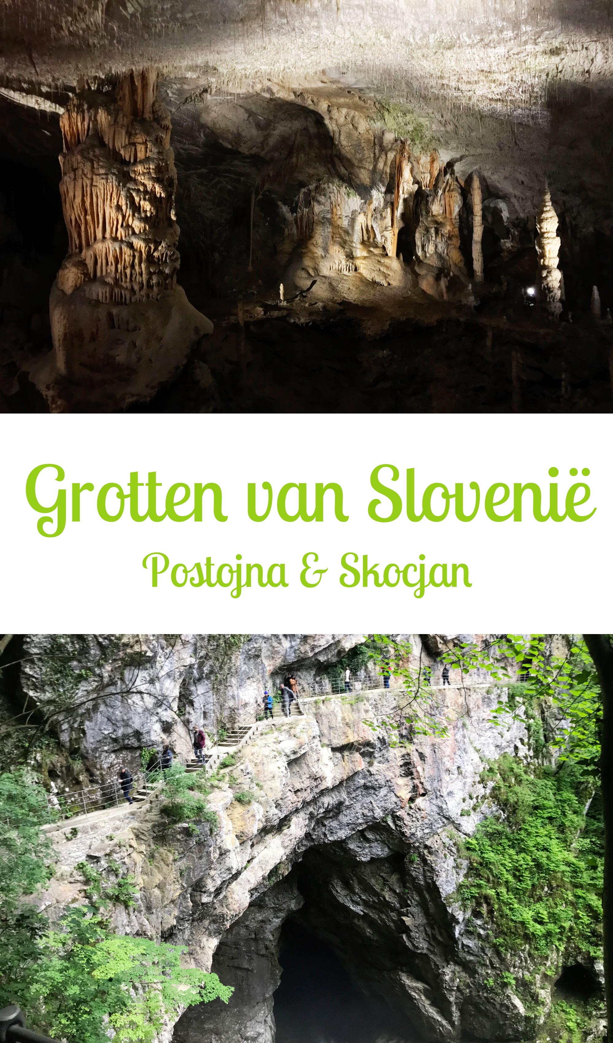 Grotten van Slovenië: Postojna & Skocjan grot