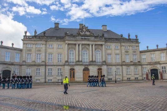 Kopenhagen - Amalienborg