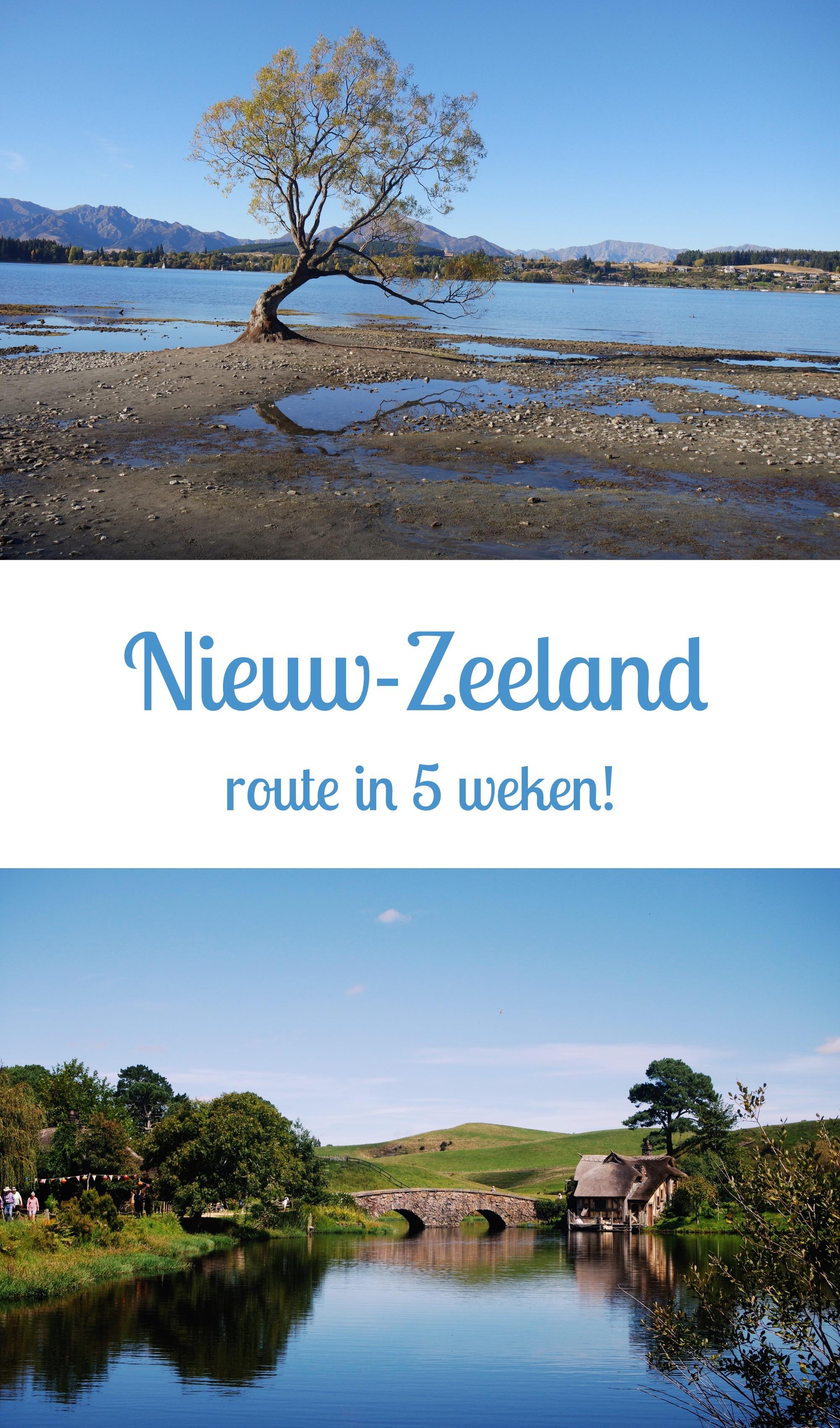 Nieuw-Zeeland: Route in 5 Weken