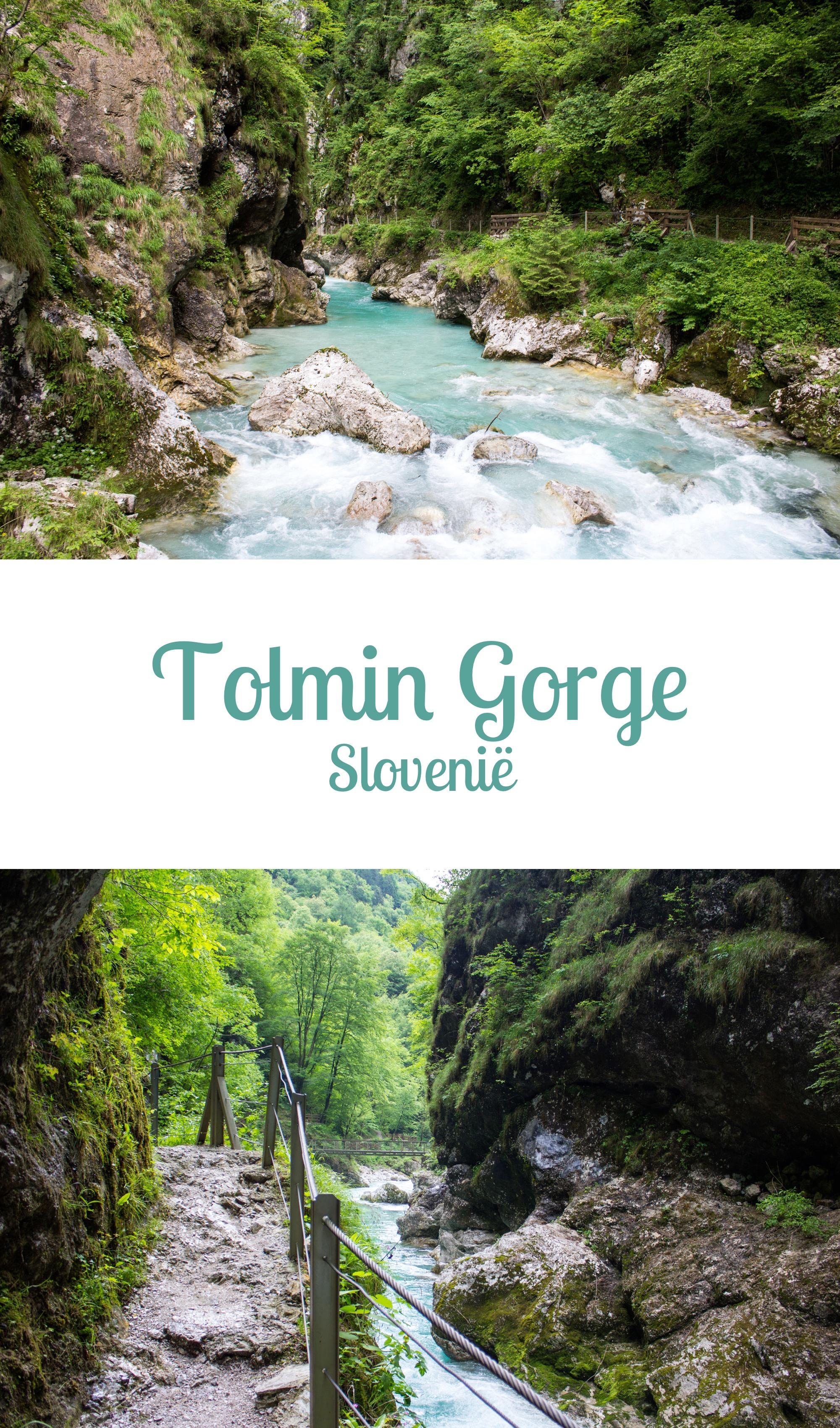 Slovenië: Tolmin Gorge