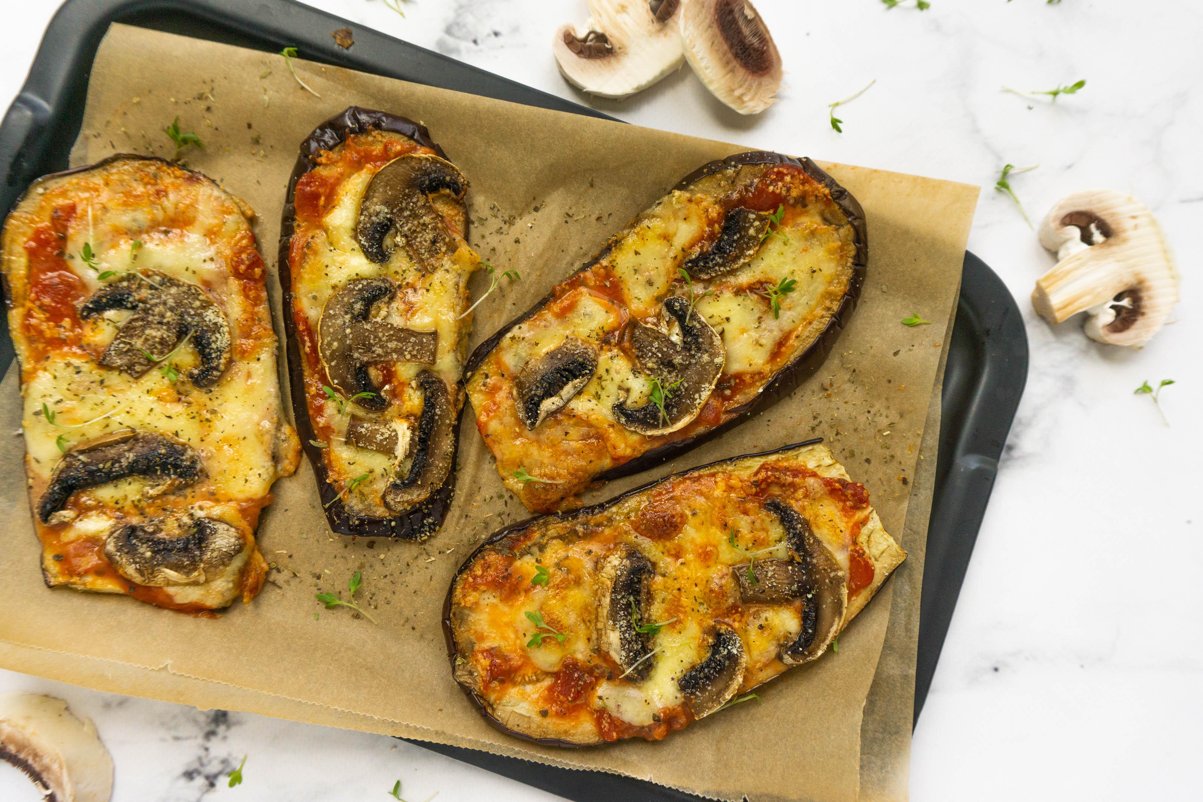 Aubergine Pizza