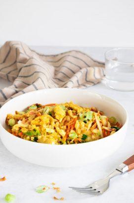 Vegetarische Nasi met Bloemkoolrijst