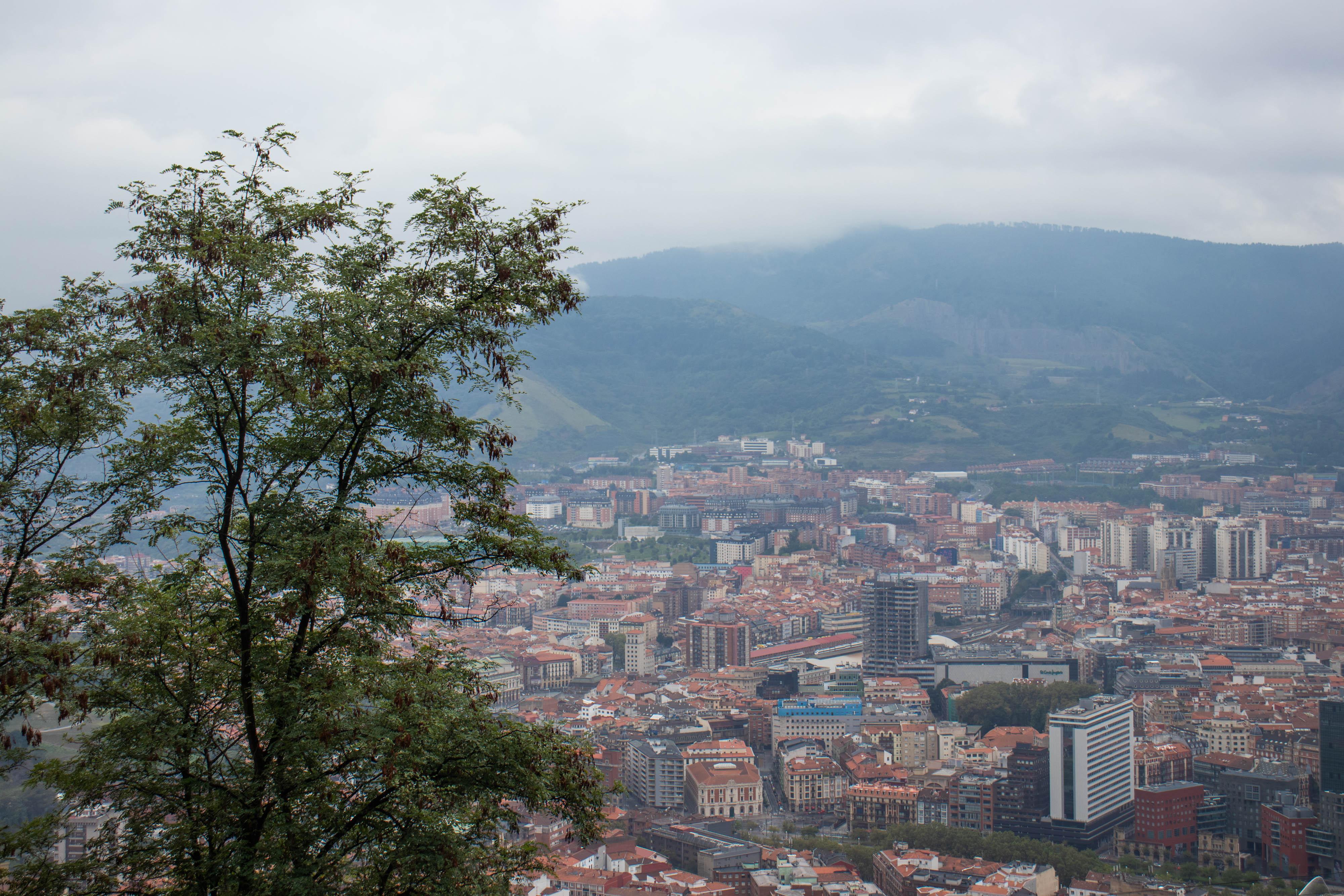 Bilbao: Uitzicht vanaf de Artxanda berg