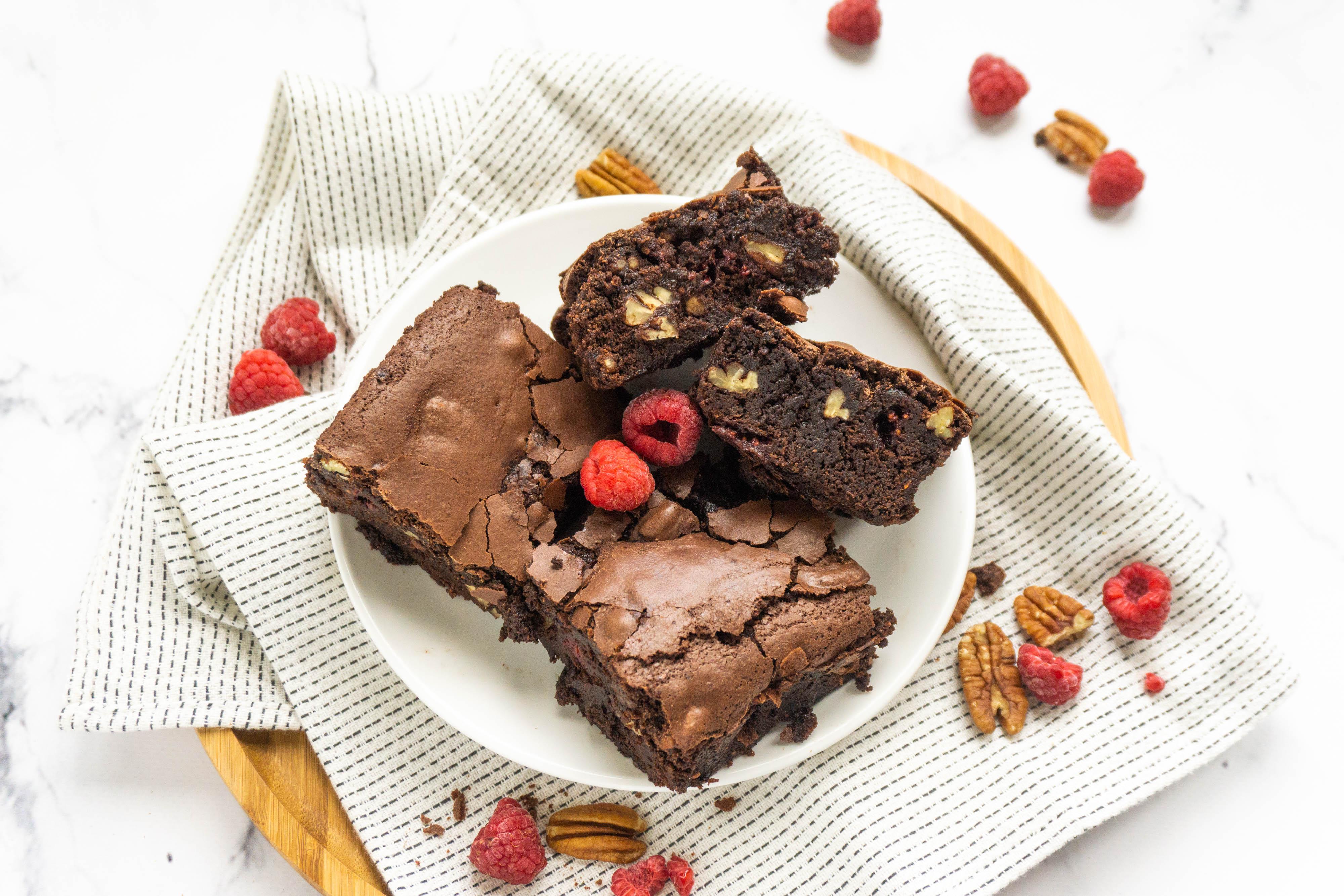 Frambozen Brownies Recept De Kokende Zussen