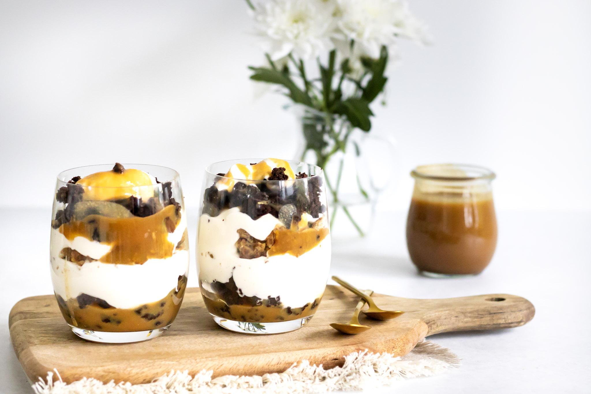 Brownie Stroopwafel Trifle