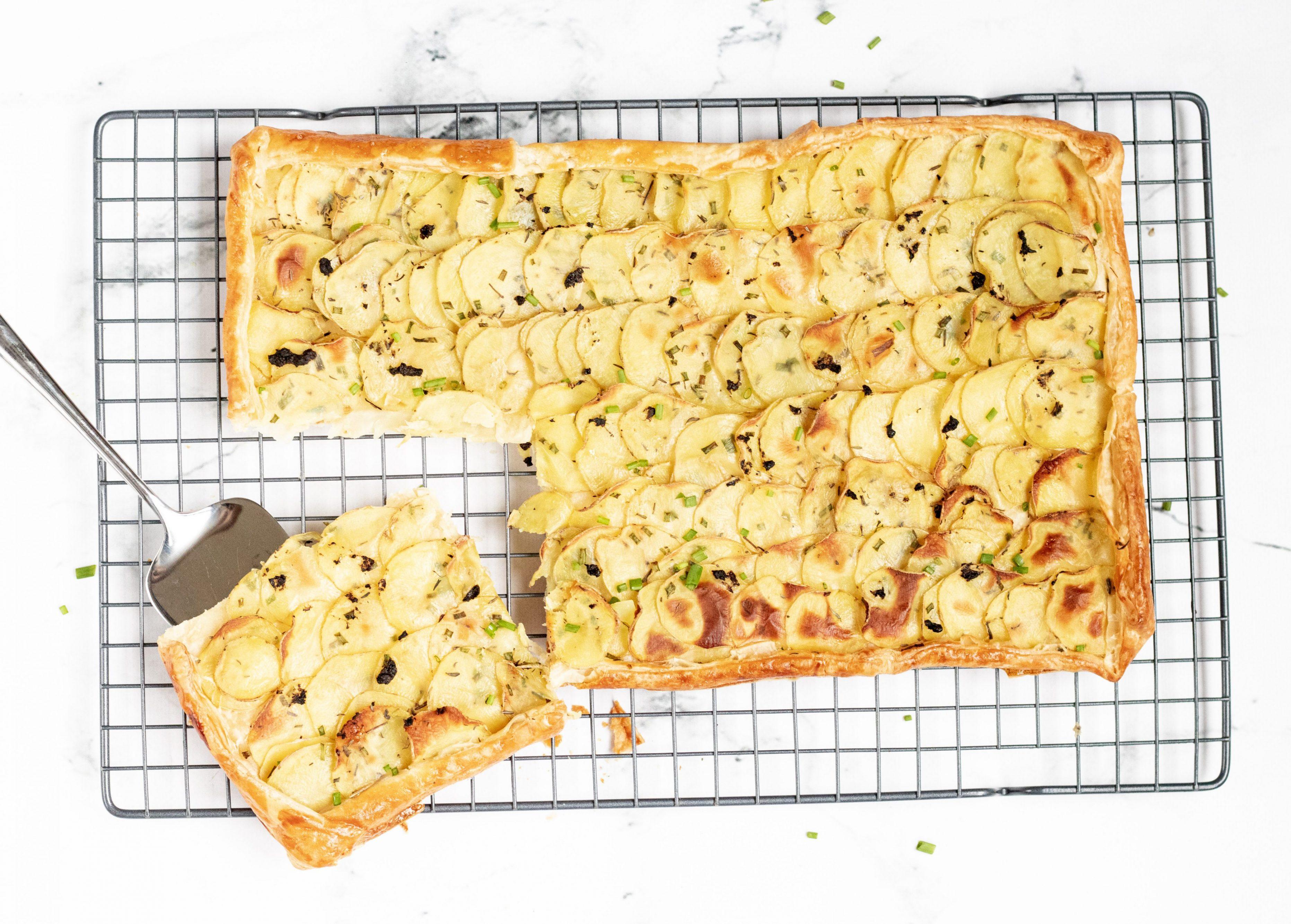 Aardappel Plaattaart met Truffel