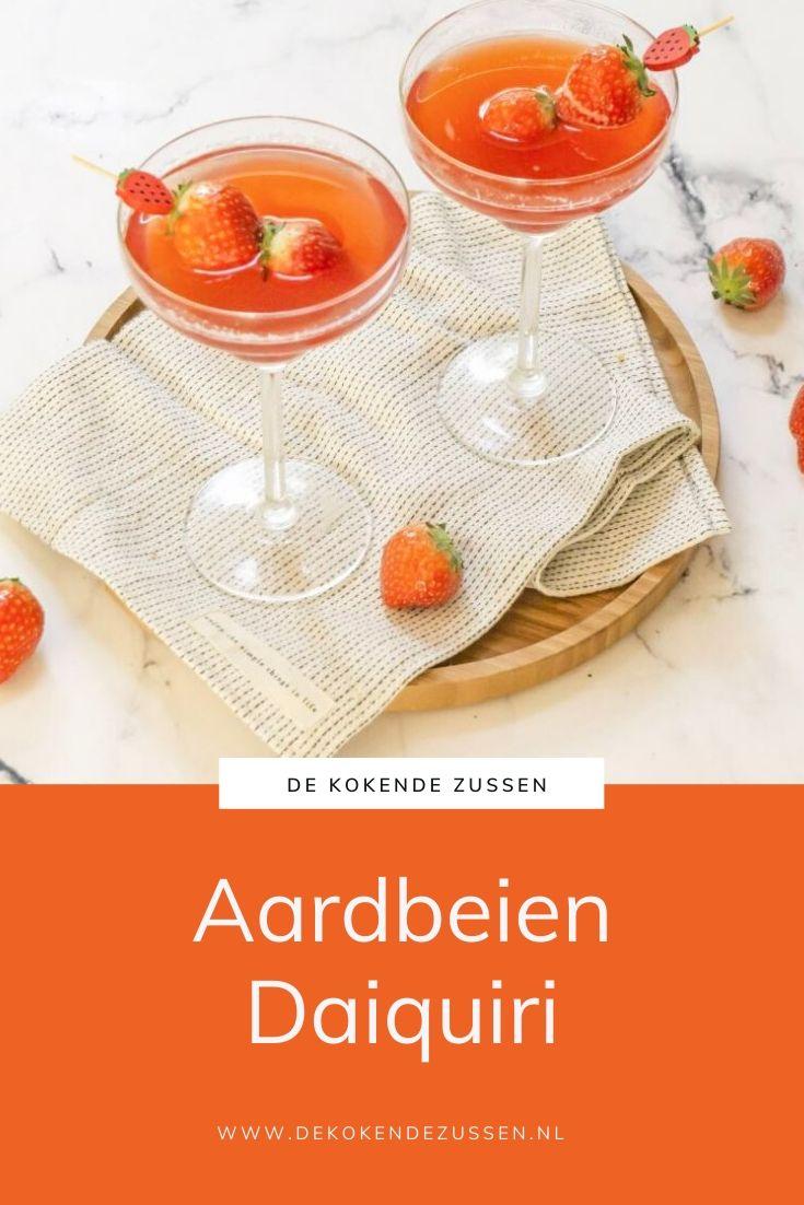 Aardbeien Daiquiri