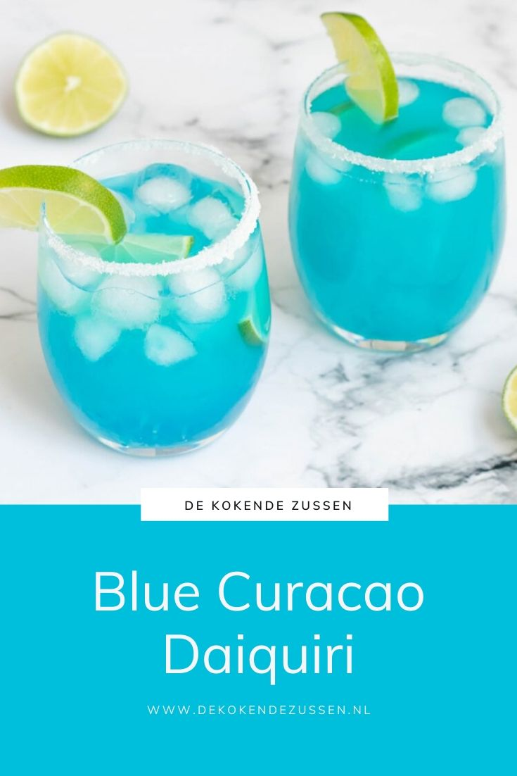 Blue Daiquiri Cocktail