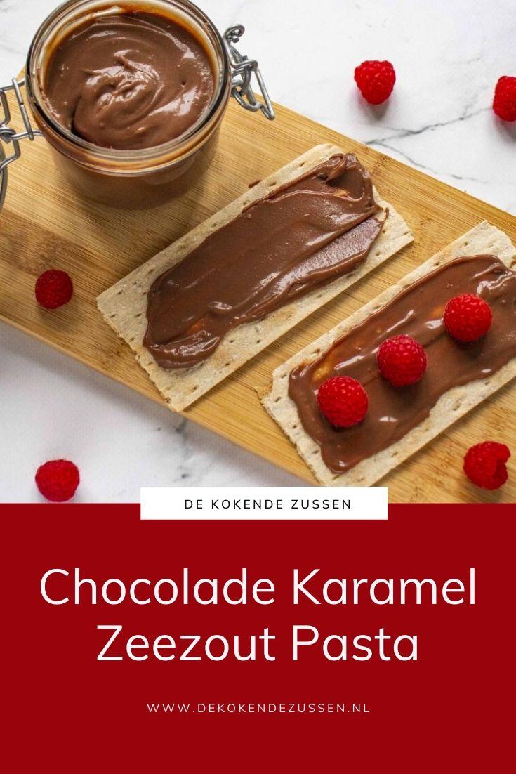 Chocoladepasta met Karamel Zeezout