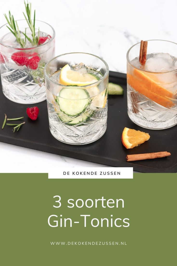 3 Heerlijke Gin-Tonic