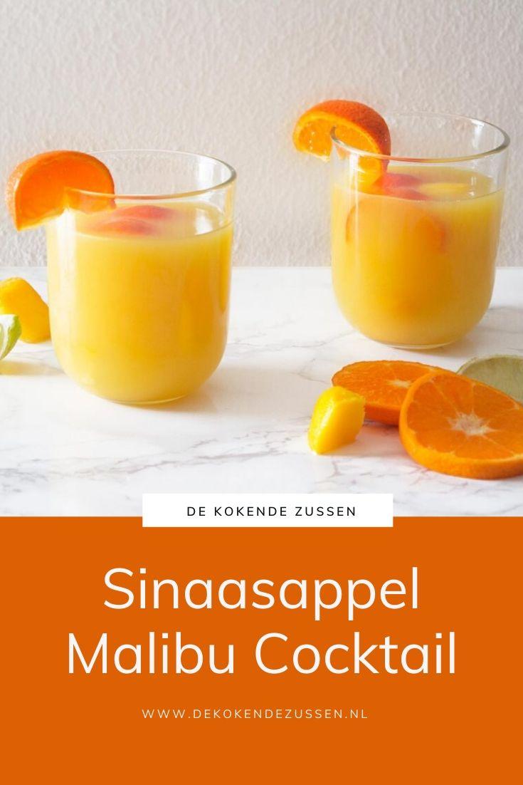 Sinaasappel Malibu Cocktail