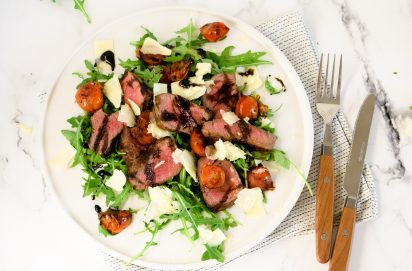 Tagliata (Italiaanse Biefstuk Salade)